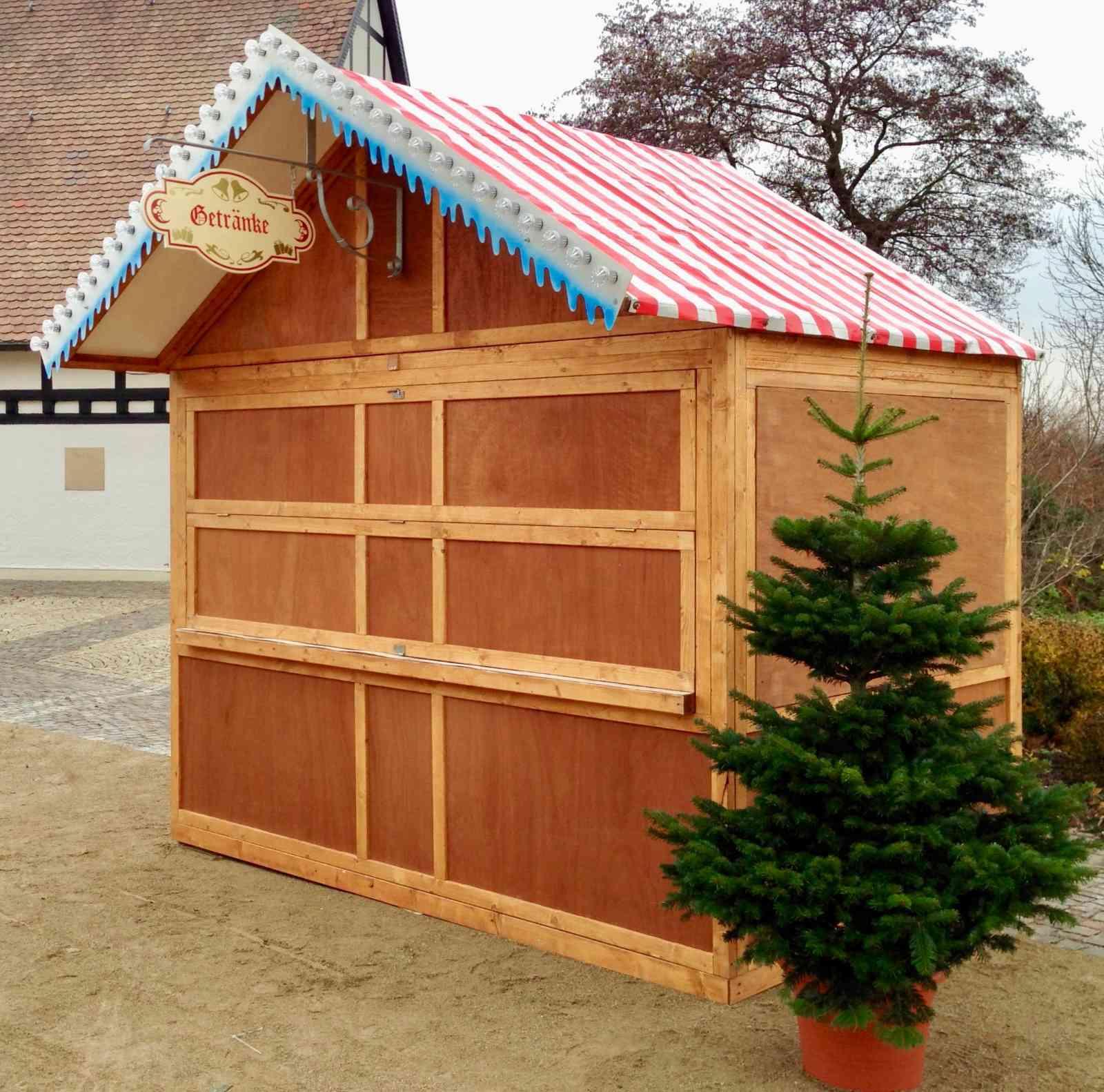 079-Weihnachtsmarktbude klappbar