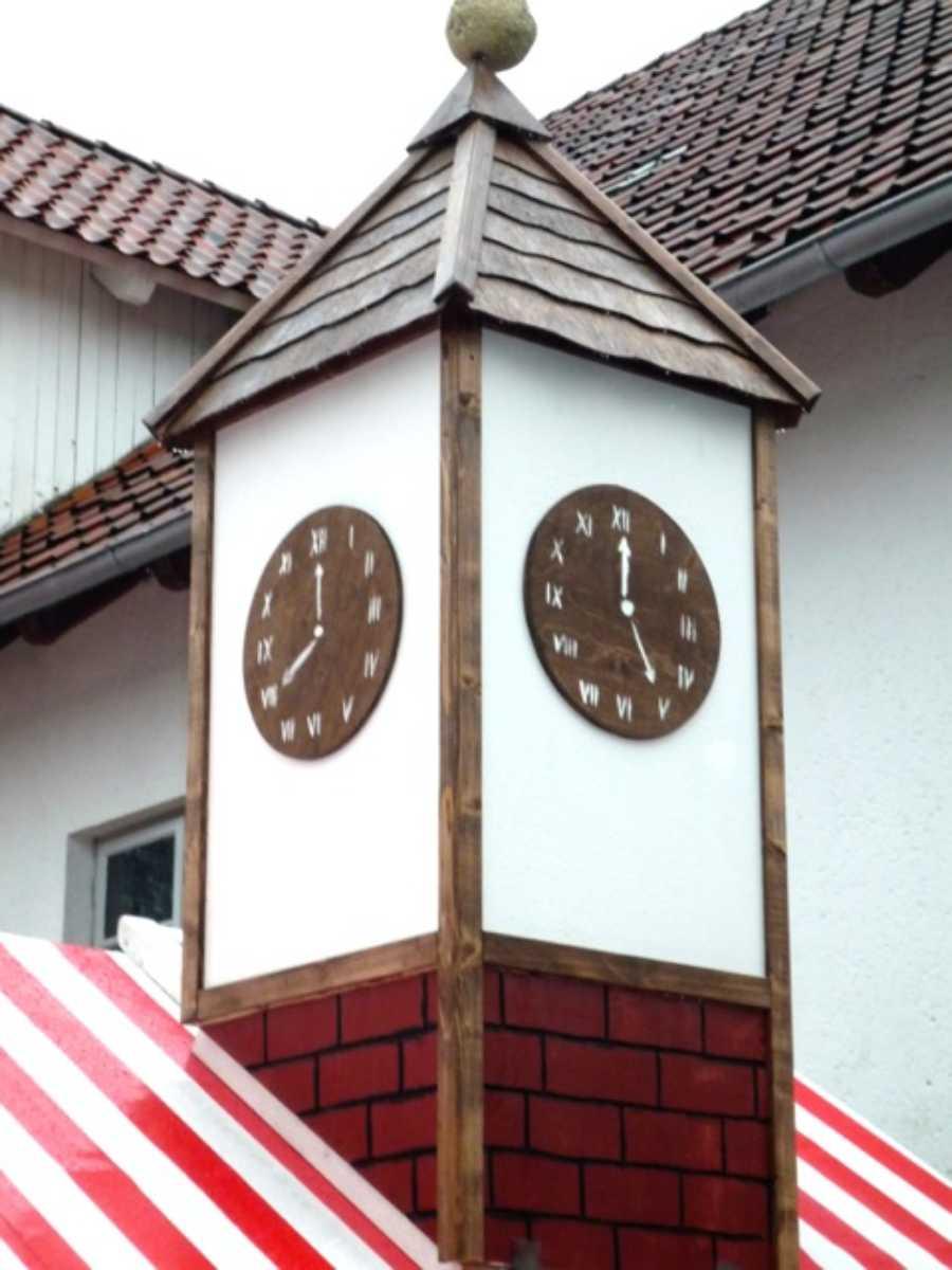 105-Hüttendach Dekoration